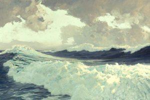 Мастер-класс по масляной живописи «Морская стихия»