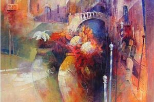 Мастер-класс по масляной живописи «Итальянский натюрморт в пейзаже по мотивам работ Claudio Perina»