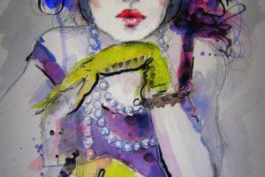 Мастер-класс по масляной живописи «Женские образы по мотивам работ Фатимы Томаевой-Габеллини»