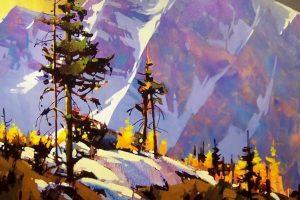 Мастер-класс по масляной живописи «Осенний пейзаж по мотивам работ Michael O'Toole»