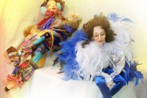 Занятия группы по авторской кукле