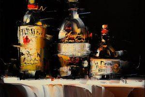 Мастер-класс по масляной живописи «Барный натюрморт»