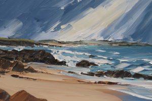Мастер-класс по масляной живописи «Морской пейзаж мастихином»
