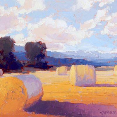 Мастер-класс по масляной живописи «Пшеничные поля» состоится 02.11.2020
