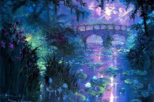 Мастер-класс по масляной живописи «Волшебные пейзажи по мотивам работ James Coleman»