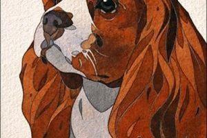 Мастер-класс по масляной живописи «Рисуем собаку акварелью»