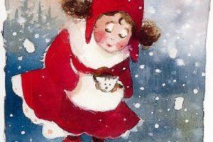 Мастер-класс по масляной живописи «Новогодние картинки по мотивам работ Minna Immonen»