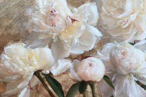 Мастер-класс по масляной живописи «Цветы по мотивам работ Katie G. Whipple»
