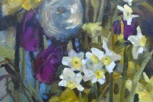 Мастер-класс по акварельной живописи «Цветы по мотивам работ Felicity House» (студия графики и акварели)