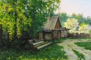 Мастер-класс по масляной живописи «Лето в деревне»