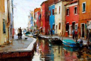 Мастер-класс по масляной живописи «Городской пейзаж по мотивам работ Дмитрия Даниша»