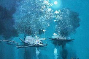 Мастер-класс по масляной живописи «Пейзажи по мотивам работ вьетнамского художника Dang Can»