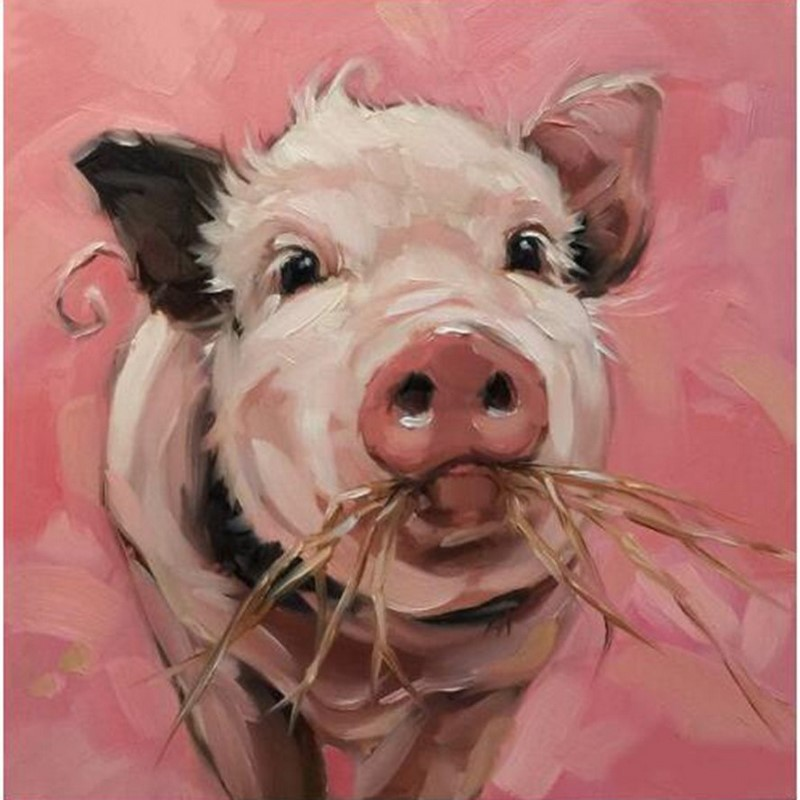 Очень прикольные рисунки свиней