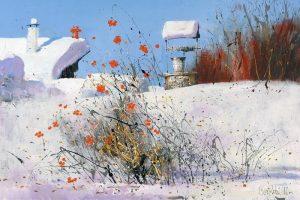 Мастер-класс по масляной живописи «Городской пейзаж по мотивам работ Сергея Черкасова»